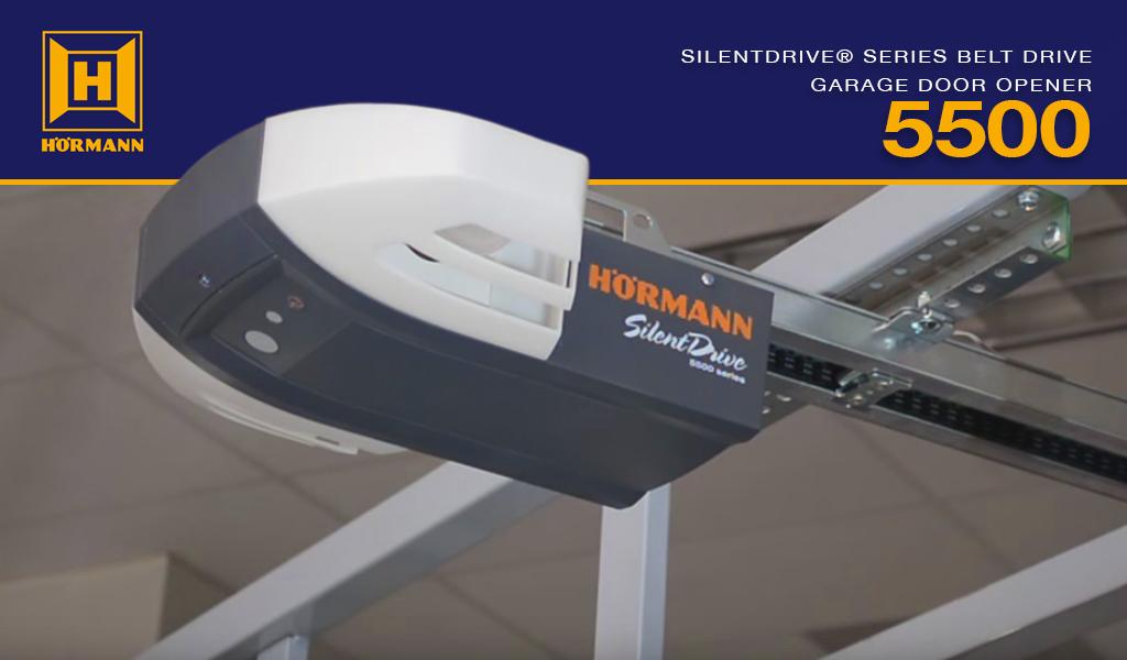 Beau Hörmann® SilentDrive® 5500 Series Residential Garage Door Opener