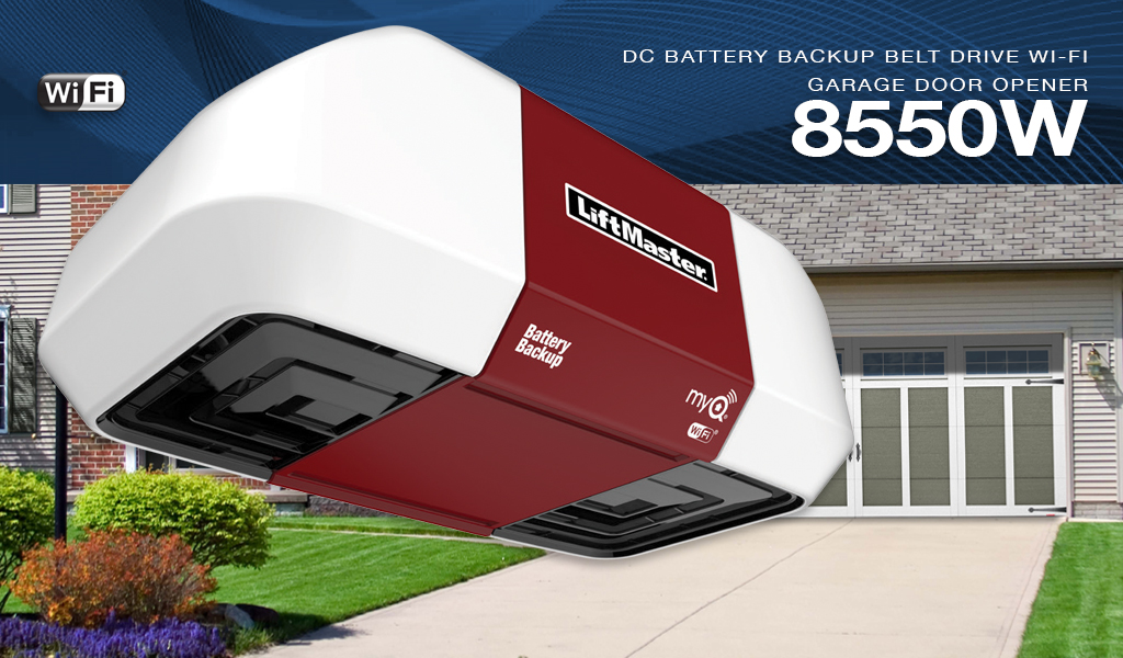 LiftMaster® 8550W Residential Garage Door Opener