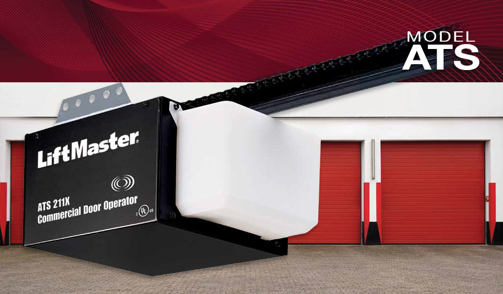 Great LiftMaster® ATS Commercial Garage Door Opener