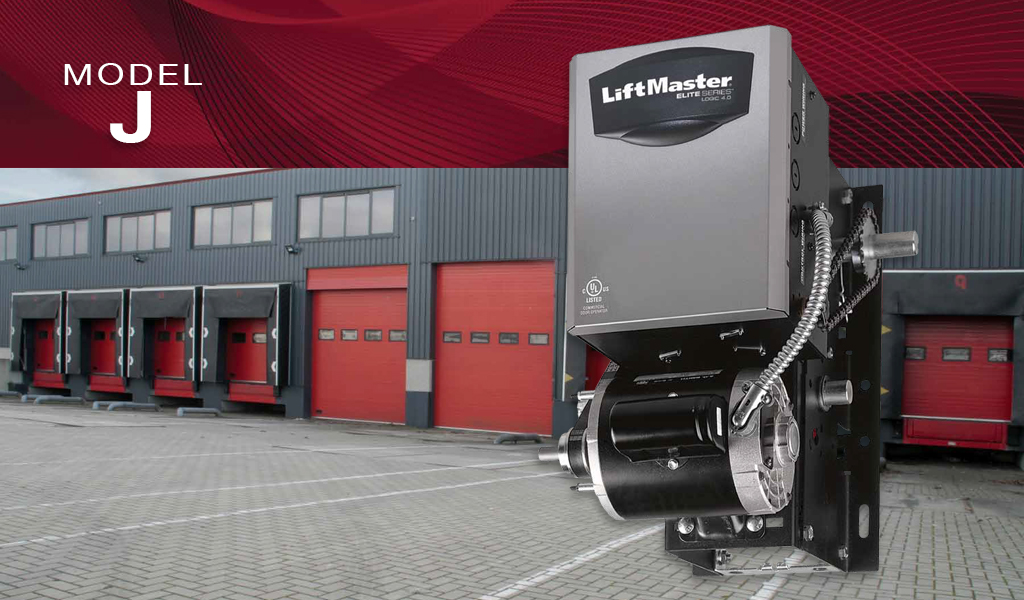 LiftMaster® J Commercial Garage Door Opener
