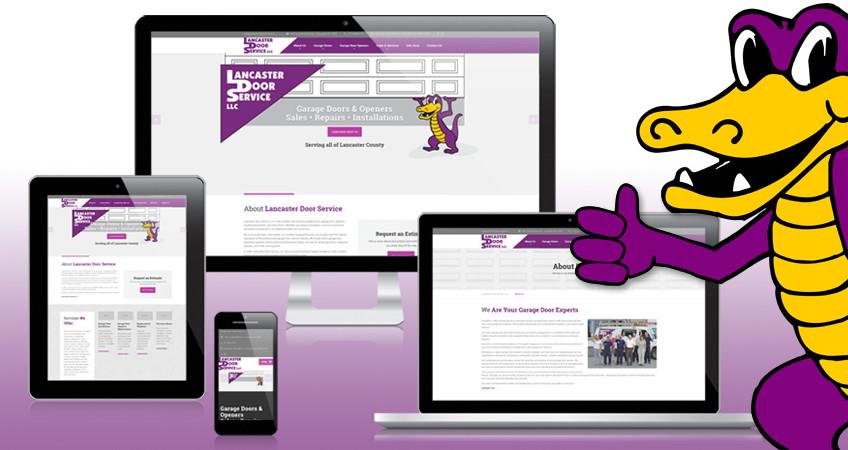 New Lancaster Door Service Website